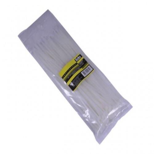 ABRAC.PLAST.EDA 4.8X200MM BCO C/100 PT 1