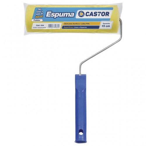 ROLO ESPUMA CASTOR 15CM C/C (034) PC 1